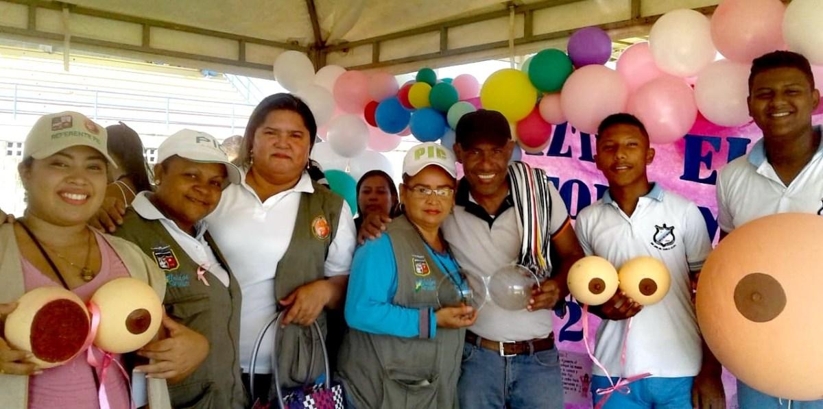 San Juan del Cesar conmemoró Día de la Obesidad y Cáncer de mama - La Guajira Hoy.com