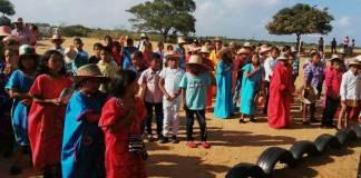 Con varias actividades de su comunidad, realizó el Centro etnoeducativo La Vanessa, su Semana Cultura.