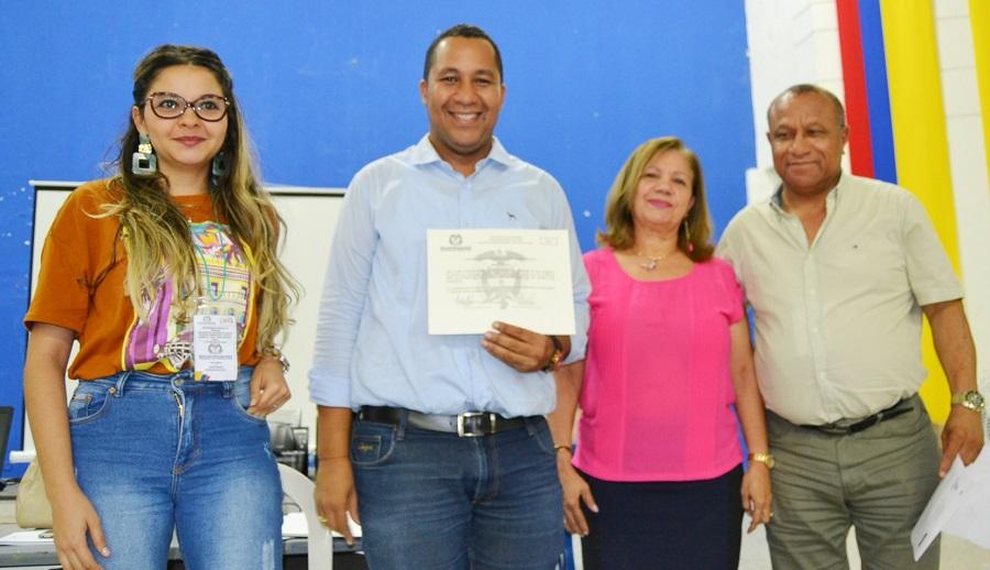José Ramiro Bermúdez Cotes, recibió credencial como alcalde de Riohacha 2020-2023 - La Guajira Hoy.com