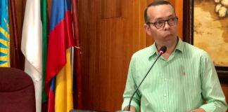 El secretario General del Distrito, Jhon Cataño fue el encargado de instalar el cuarto periodo de sesiones ordinarias.