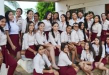 Estas son las niñas responsables que el colegio se destaque como el mejor claustro educativo del sector público según las pruebas Icfes en La Guajira.