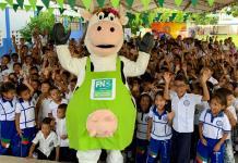 10 mil kits de lacteos donados por la Federación Nacional de Ganaderos, Fedegan, en cinco entes territoriales de La Guajira.