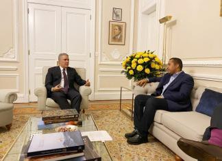 Como un gesto de compromiso con Riohacha para el próximo cuatrienio, el presidente de Colombia Iván Duque Márquez, recibió en casa de Nariño al alcalde electo de la capital de La Guajira, José Ramiro Bermúdez Cotes.
