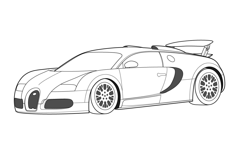 Sélection de dessins de coloriage automobile à imprimer