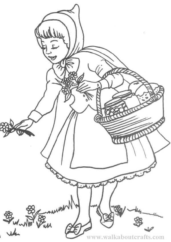 Red Suite Coloring Pages