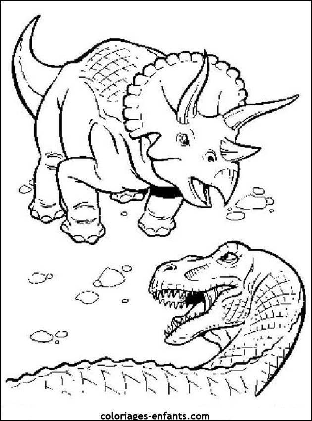 Coloriage A Imprimer Dinosaure King Auto Electrical Wiring