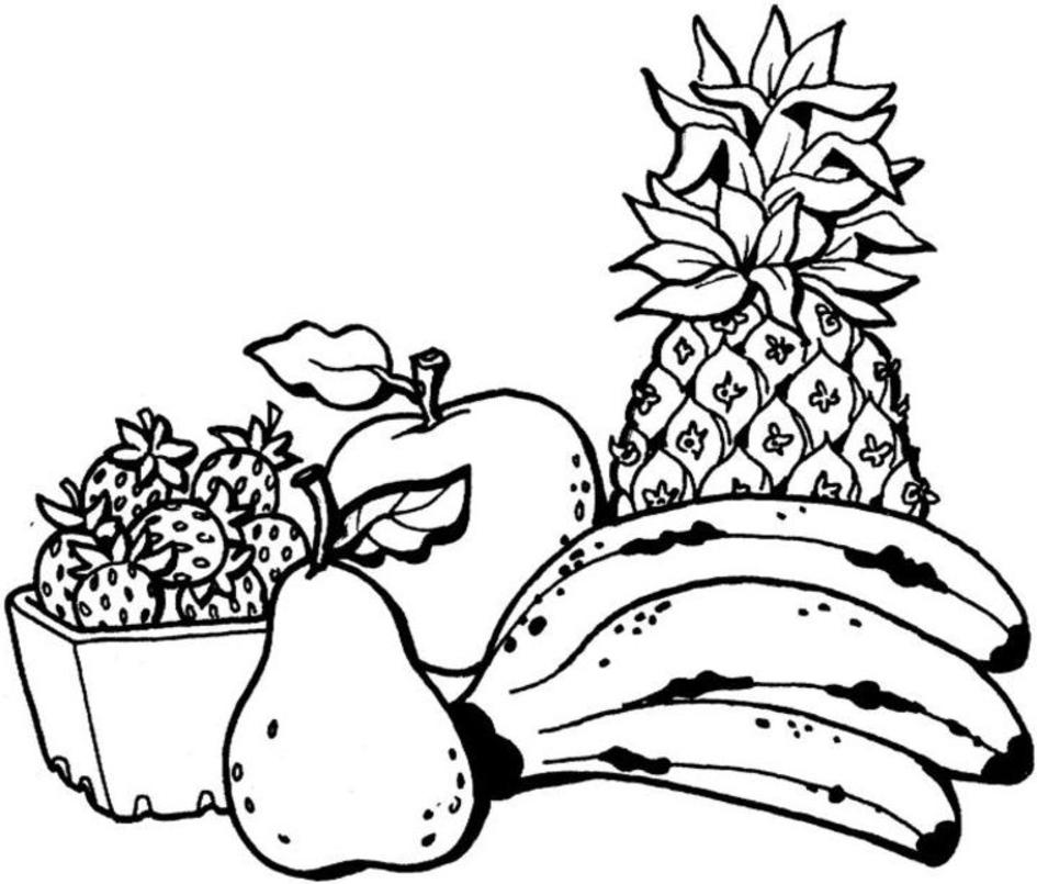 69 dessins de coloriage fruit à imprimer sur LaGuerche.com