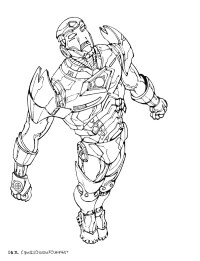 Coloriage Iron Man 2 92 Dessins De Coloriage Iron Man