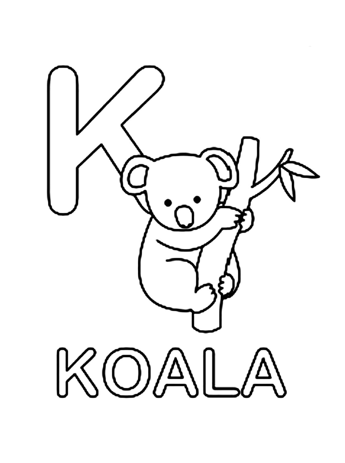77 dessins de coloriage koala à imprimer sur LaGuerche
