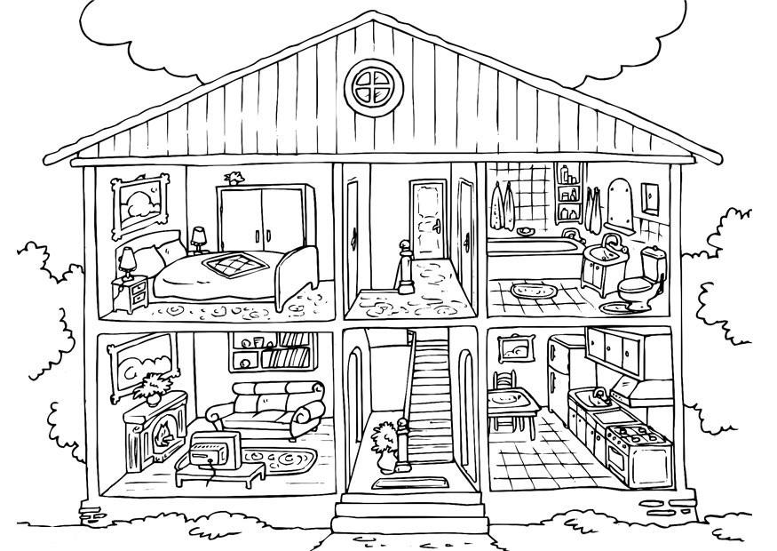 87 dessins de coloriage maison à imprimer sur LaGuerche