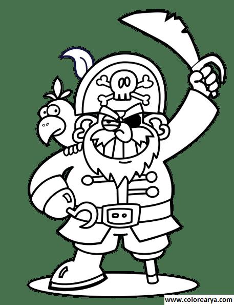 209 dessins de coloriage pirate à imprimer sur LaGuerche