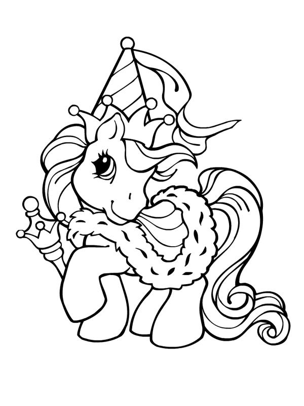 149 dessins de coloriage poney à imprimer sur LaGuerche