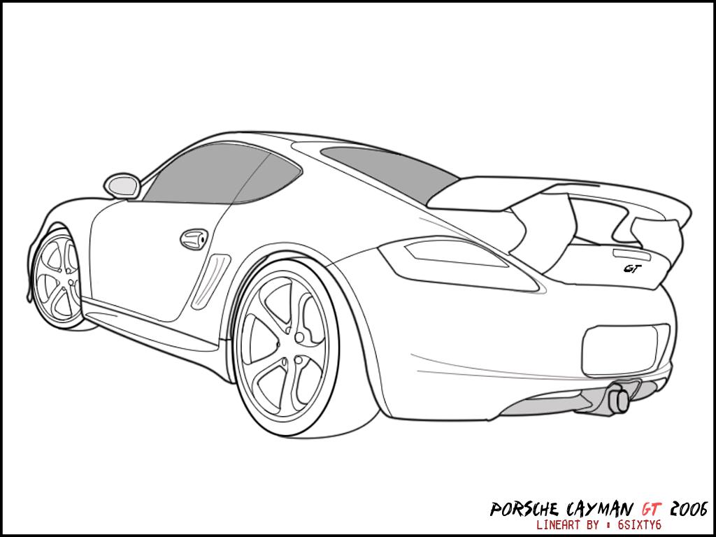 17 Dessins De Coloriage Porsche A Imprimer Sur Laguerche