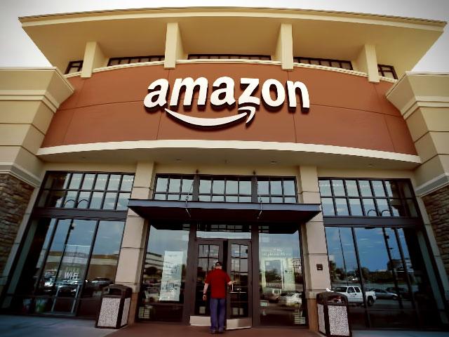 Amazon — el monstruo digital se materializa.