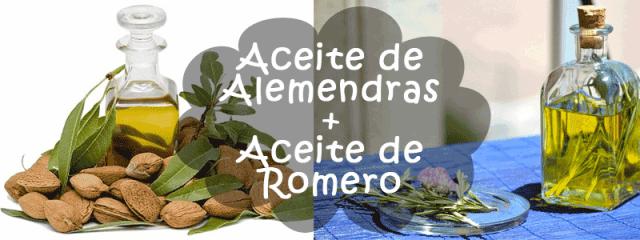 Aceite de Almendras + Aceite de romero