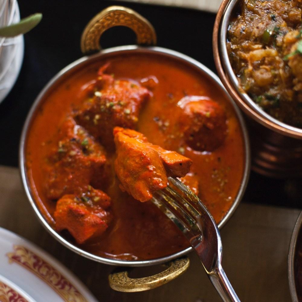 Chicken Tikka Masala (Curry de pollo Tikka con especias preparadas al estilo punjabi) (5)
