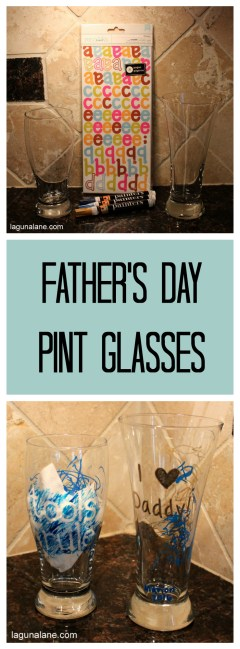 Father's Day Pint Glasses | Laguna Lane