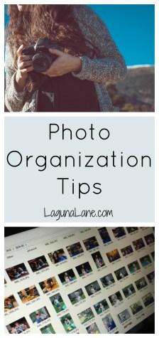 Photo Organization Tips | Laguna Lane