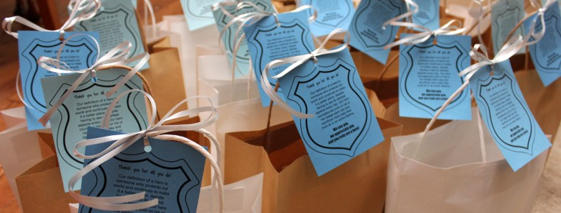 Police Appreciation Bags | LagunaLane.com