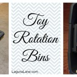 Toy Rotation Bins