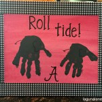 Alabama Handprint Canvas