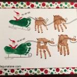 Christmas Handprint & Footprint Craft