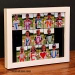 Photo Collage Teacher Gift & FREE PRINTABLE