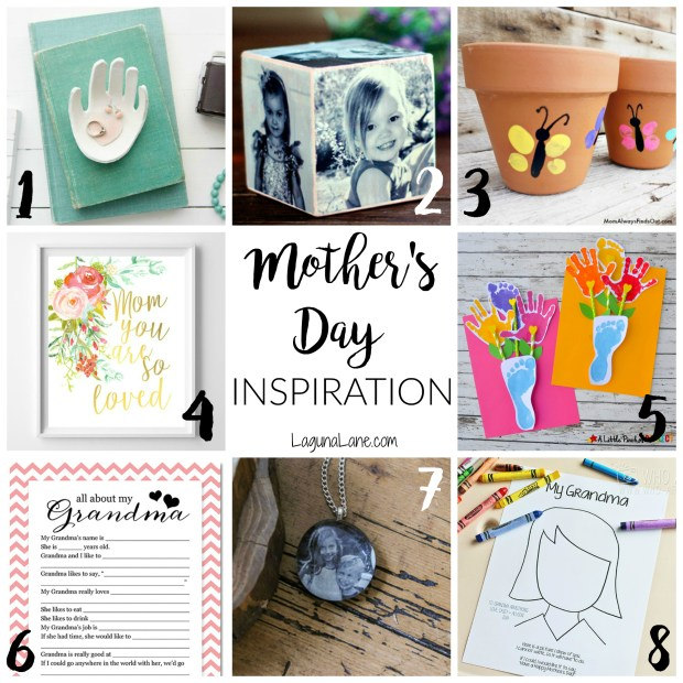 Mother's Day Inspiration Board | LagunaLane.com