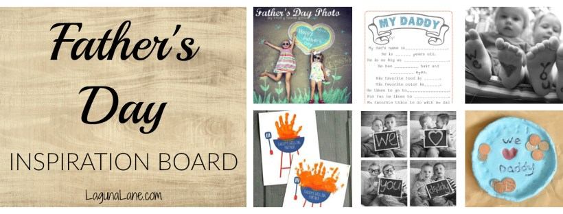 Father's Day Gifts Inspiration Board | Laguna Lane