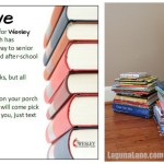 Create Your Own Book Drive + Free Flyer Printable!