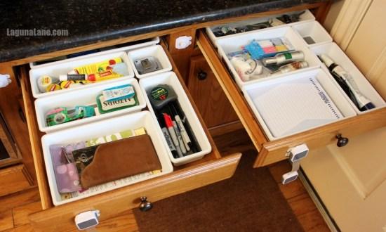 Organize Your Drawers - Finished! | Laguna Lane