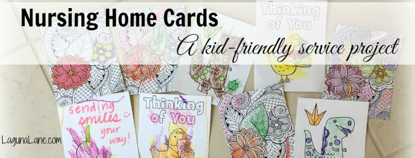 Nursing Home Cards - Service Project - Banner | Laguna Lane