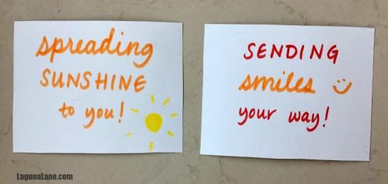 nursing home service project  making  delivering cards