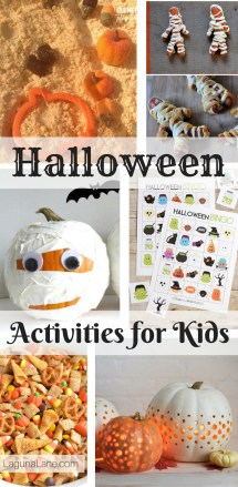Halloween Activities for Kids - Easy Pumpkin Decorating, Halloween foods, and activities | Laguna Lane