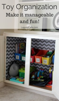 Toy Organization - Make It Manageable and Fun! | Laguna Lane