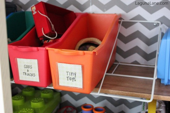 Toy Organization - Removable Toy Bins for Sorting and Storing | Laguna Lane