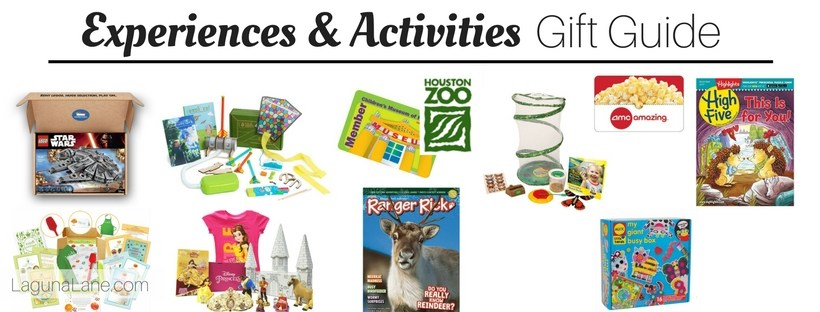 Experiences Gift Guide - Non-Toy Gifts | Laguna Lane