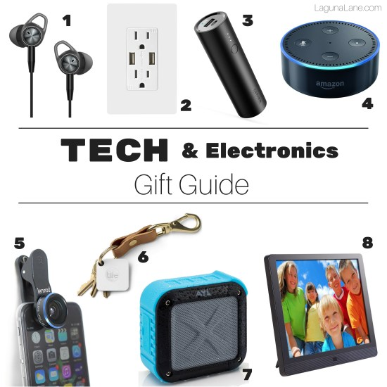 Tech Gift Guide | Electronics Gifts for Everyone on Your List! | Laguna Lane