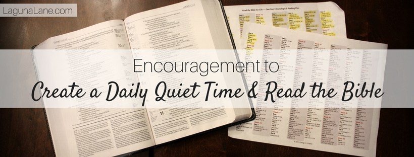 Encouragement to Read the Bible - You Can Do It! | Laguna Lane