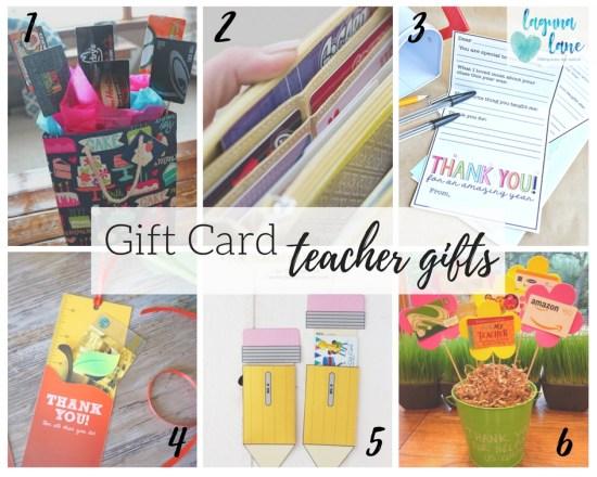 teacher gift card ideas creative ways to give gift cards laguna lane