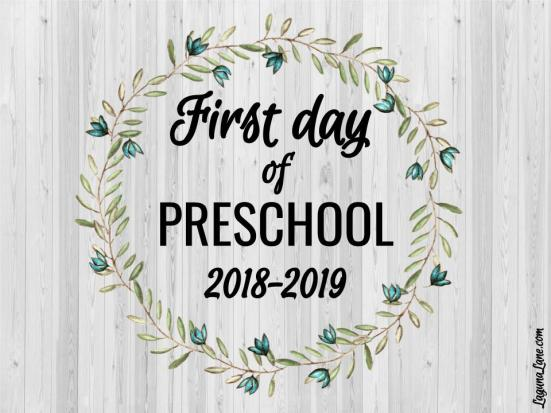 Farmhouse First Day of School Signs 2018-2019 – Free