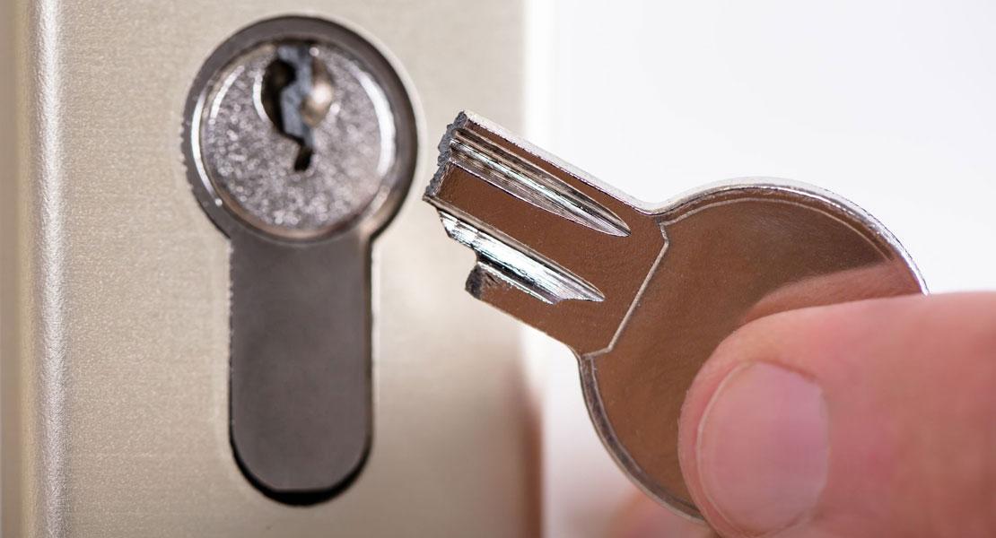 ¿Qué hacer cuando la llave se rompe en la cerradura?