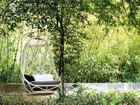 Hanging chair: sillas que flotan en el aire (6/6)