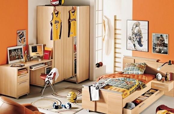 Dormitorios Juveniles Decoracion Paredes Habitacin