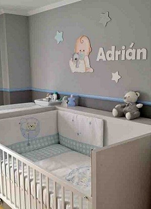 Cuartos para bebes recien nacidos sencillos for Cuarto de nino recien nacido