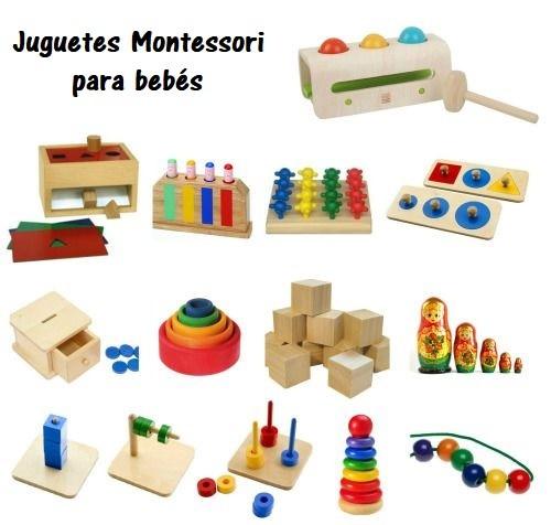 Juguetes educativos y material para nios montessori