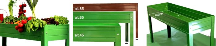 Tu mini huerto en la terraza la habitaci n verde - Mesa cultivo ikea ...