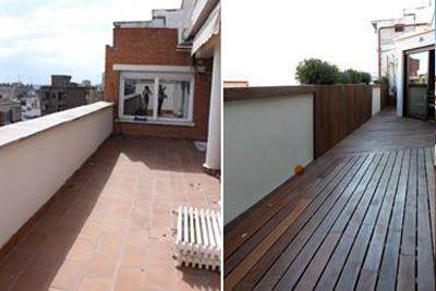 jardin en terraza antes y despues