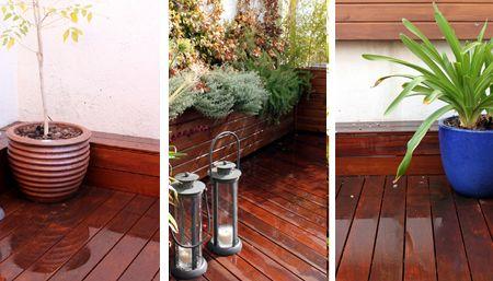 ideas con madera exterior para jardines en terrazas y aticos