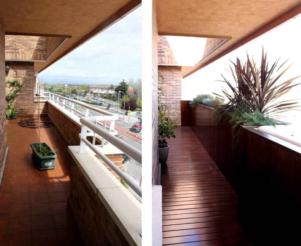 Especial decorar y reformar terrazas c mo ajardinar petos y barandillas la habitaci n verde - Decorar terrazas aticos ...
